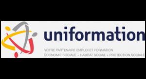 Logo partenaire UNIFORMATION